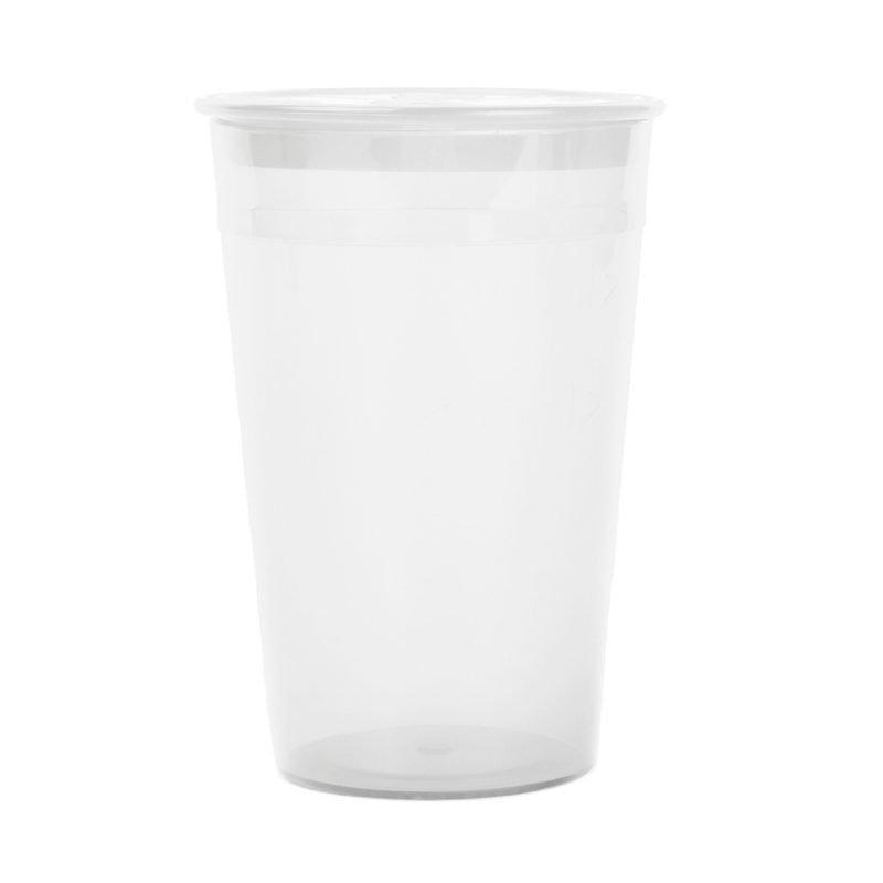 Почистваща чаша MeLuna бяла