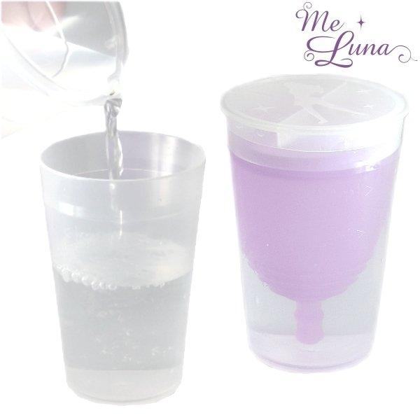 Почистваща чаша MeLuna
