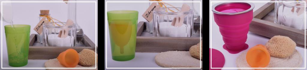 Дезинфекция менструална чашка MeLuna