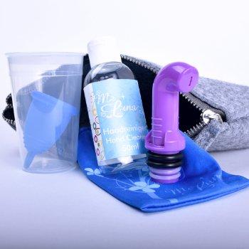 3 идеи за почистване на менструална чашка